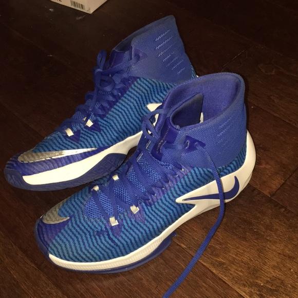 Nike Shoes | Nike Blue Hyperdunks